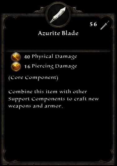 Azurite Blade