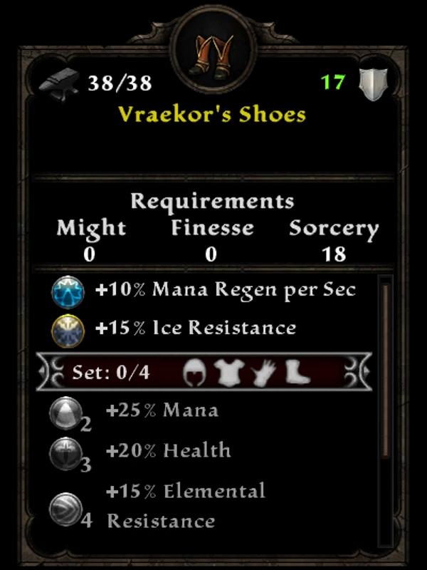 Vraekor's Shoes
