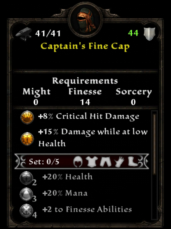 Captain's Fine Cap
