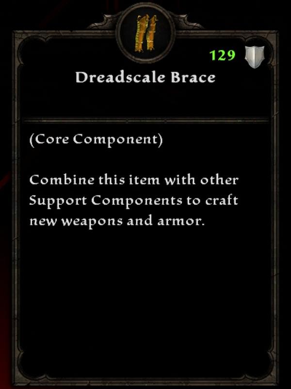 Dreadscale Brace