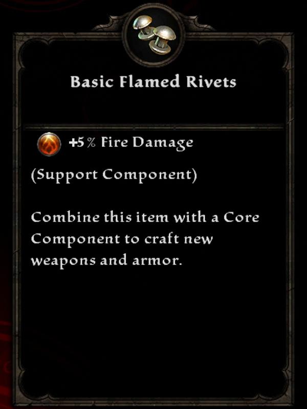 Basic Flamed Rivets