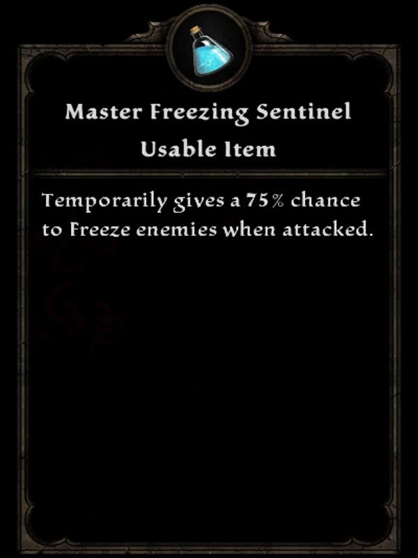 Master Freezing Sentinel