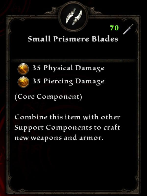 Small Prismere Blades