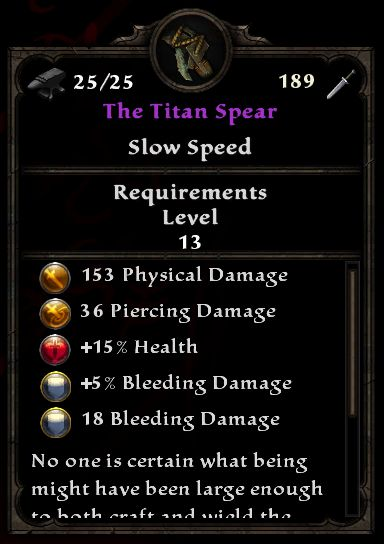 The Titan Spear