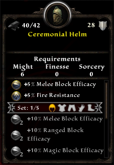 Ceremonial Helm