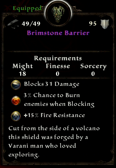 Brimstone Barrier