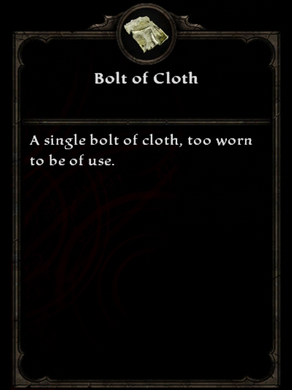 Bolt of Cloth