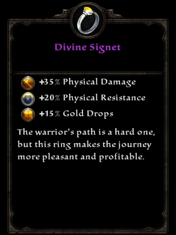 Divine Signet