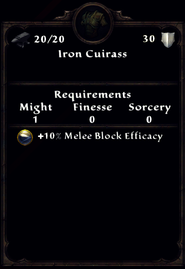 Iron Cuirass