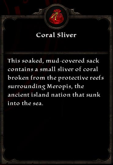 Coral Sliver