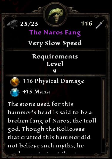 The Naros Fang