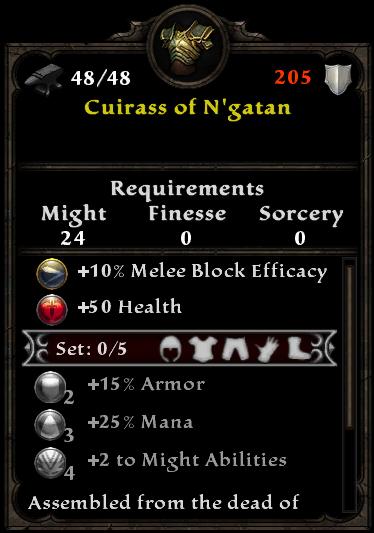 Cuirass of N'gatan