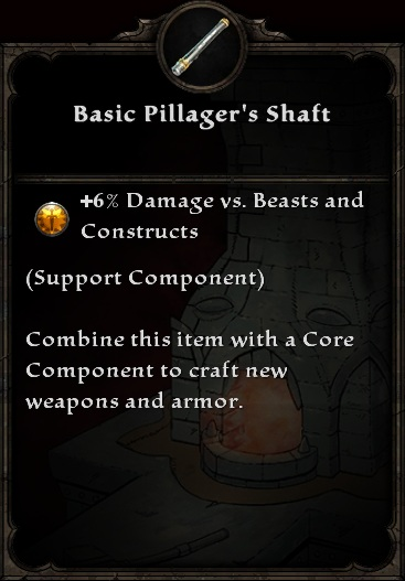 Basic Pillager's Shaft