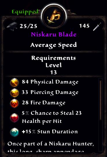 Niskaru Blade