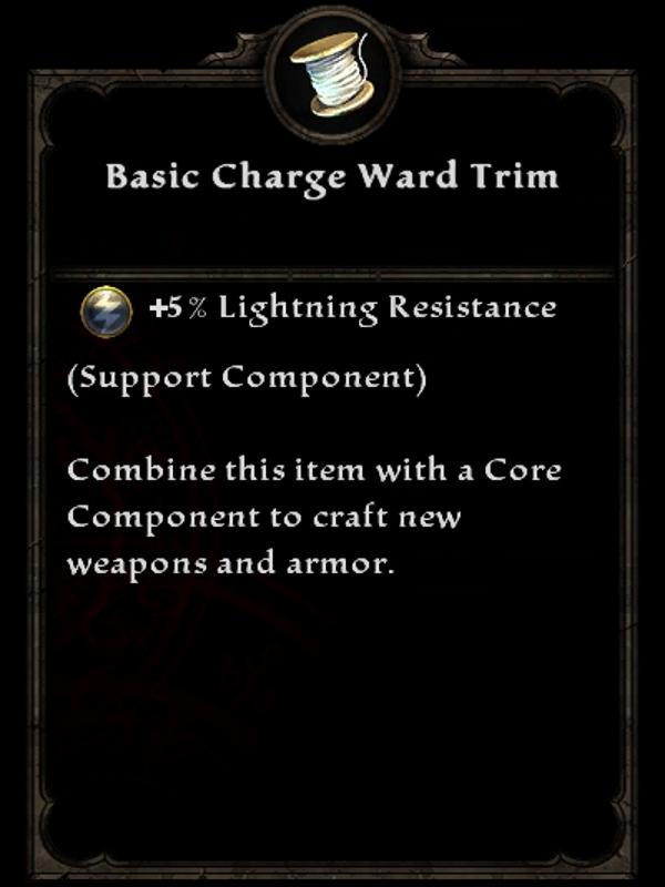 Basic Charge Ward Trim