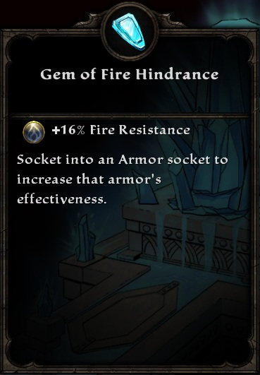 Gem of Fire Hindrance