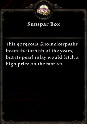Sunspar Box