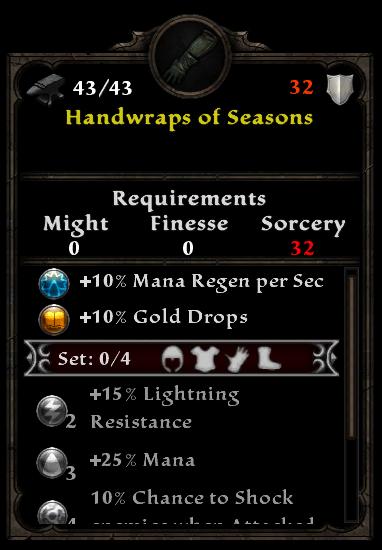Handwraps of Seasons