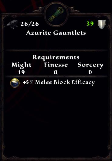 Azurite Gauntlets