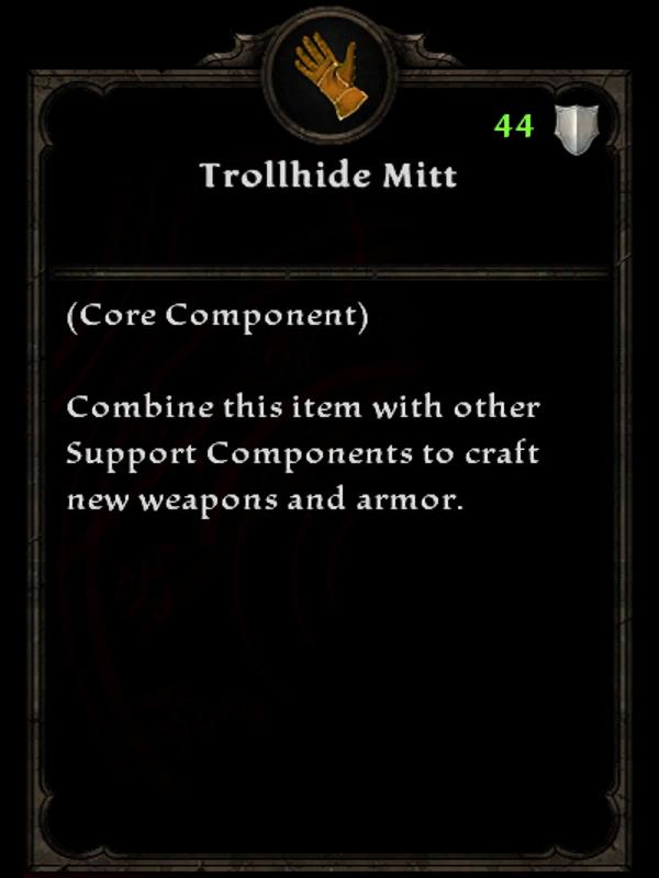 Trollhide Mitt