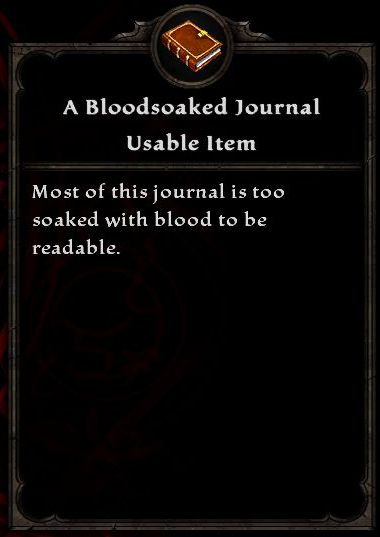 A Bloodsoaked Journal