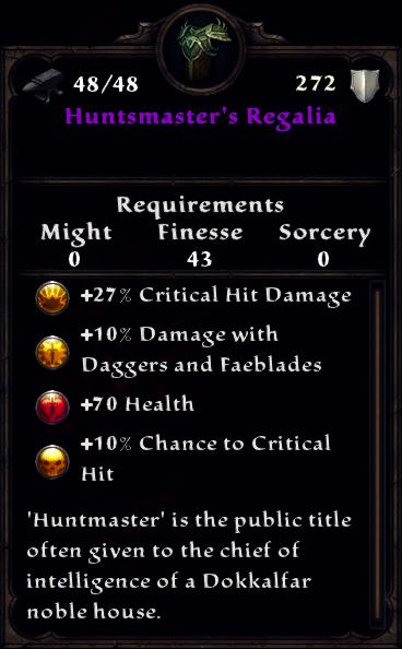Huntsmaster's Regalia