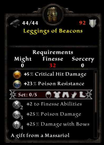 Leggings of Beacons