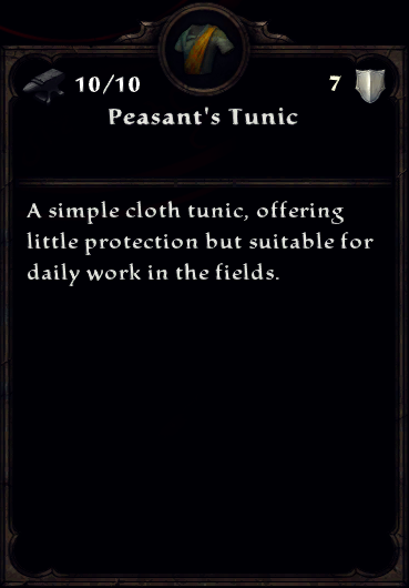 Peasant's Clothing