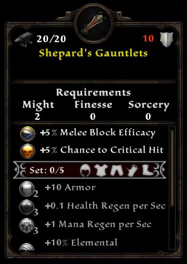 Shepard's Gauntlets