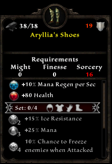 Aryllia's Shoes