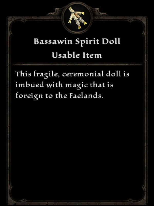 Bassawin Spirit Doll