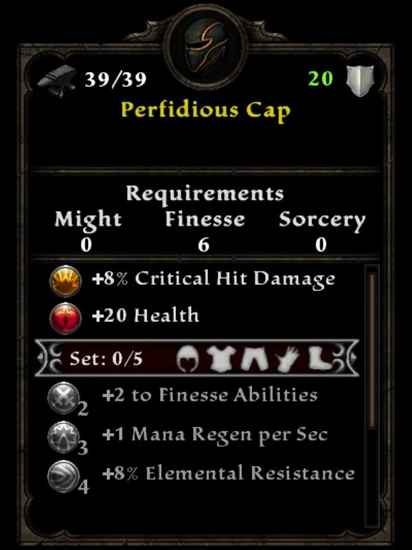 Perfidious Cap