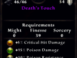Death's Touch