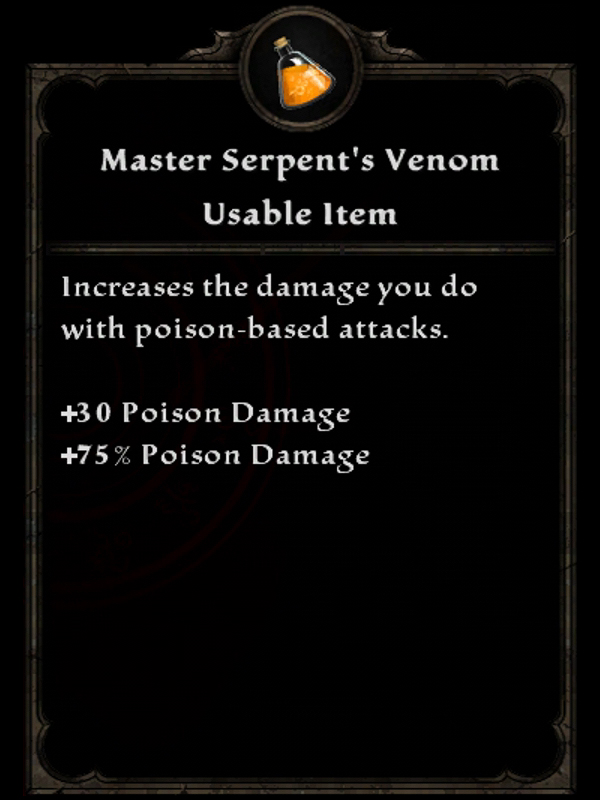 Master Serpent's Venom