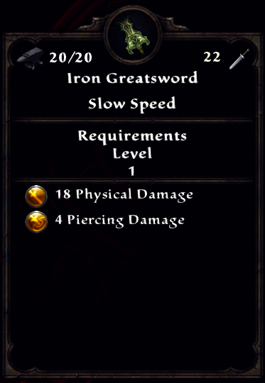 Iron Greatsword