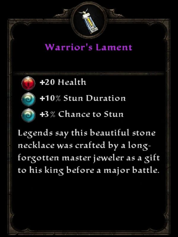 Warrior's Lament