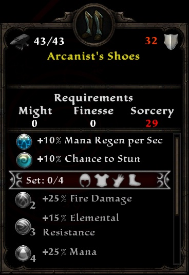 Arcanist's Shoes