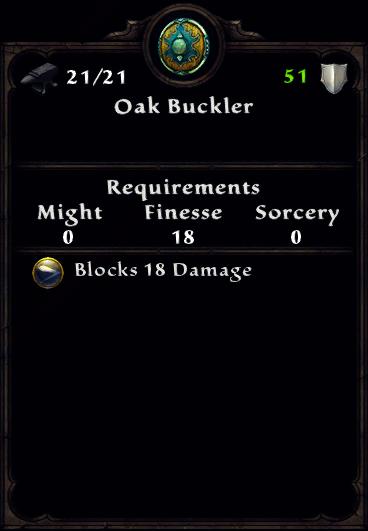 Oak Buckler