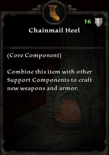 Chainmail Heel