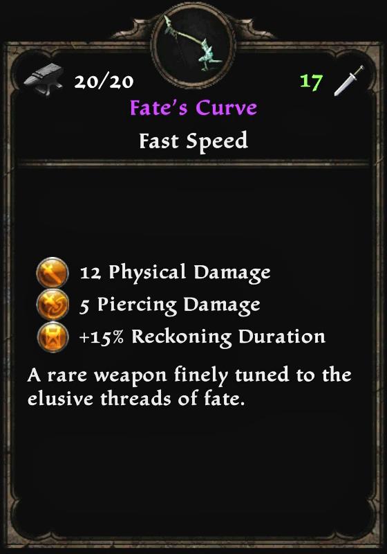 Fate's Curve