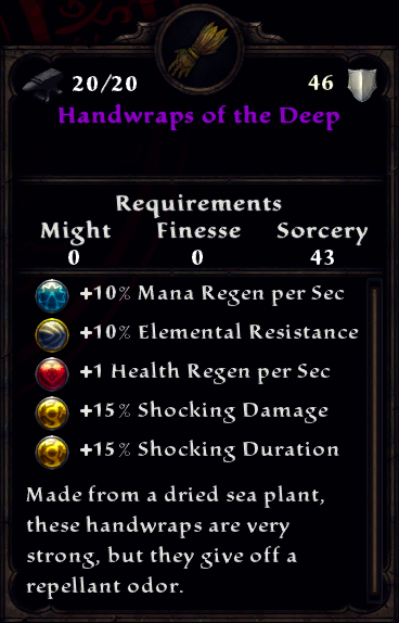 Handwraps of the Deep