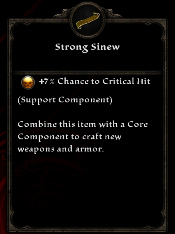 Strong Sinew