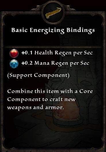 Basic Energizing Bindings