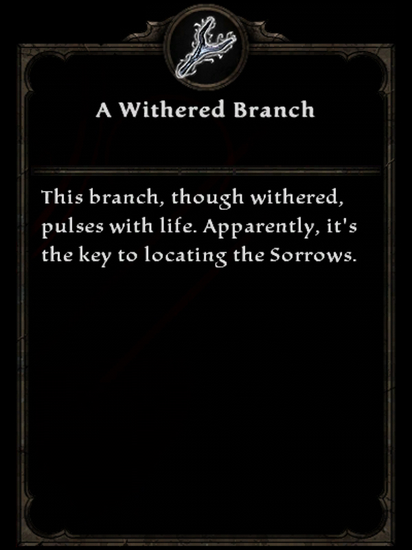 A Withered Branch
