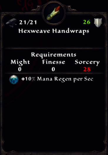 Hexweave Handwraps