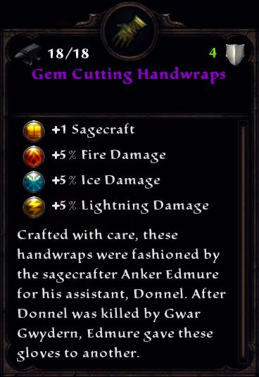 Gem Cutting Handwraps