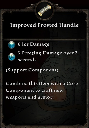 Improved Frosted Handle