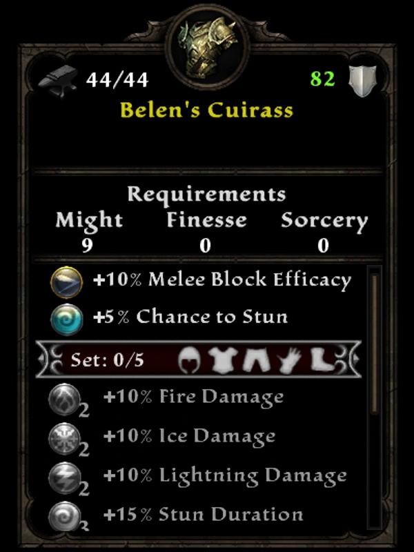 Belen's Cuirass