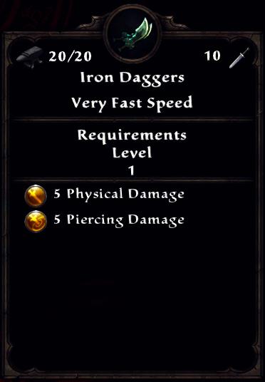 Iron Daggers