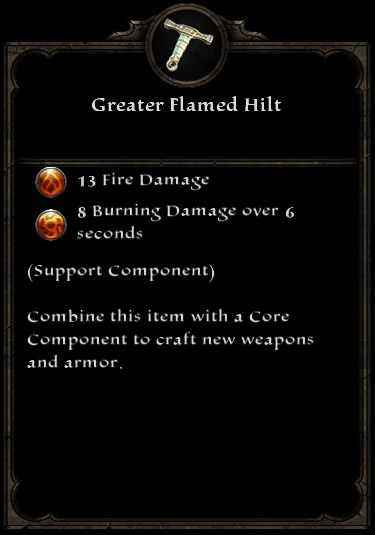 Greater Flamed Hilt